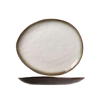Cosy & Trendy Plato Oval Plate Matt 27x23cm