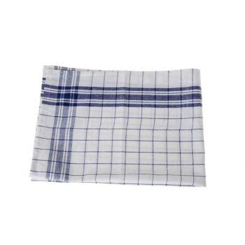 Cosy & Trendy For Professionals Keukenhanddoek Set6 Grove Ruit Blauw-wit