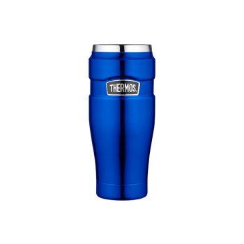 Thermos King Tumbler Mug Metalic Blue 470ml