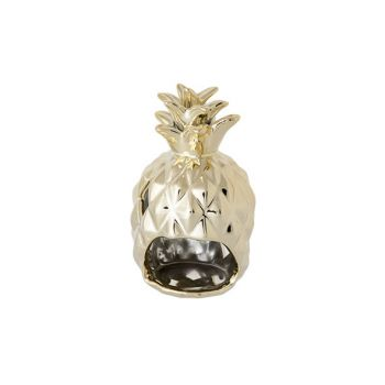 Cosy & Trendy Pineapple Gold Candle Holder D8.5xh14.7