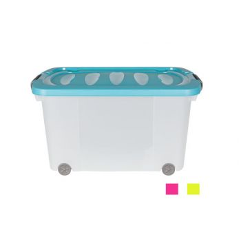 Cosy & Trendy Storage Box On Wheels With Lid Assorted