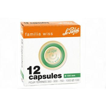 Le Parfait Familia Wiss Kapseln D100mm Set12