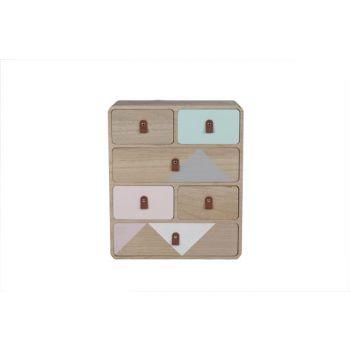 Cosy @ Home Cabinet Retro Wood 34x16x45cm