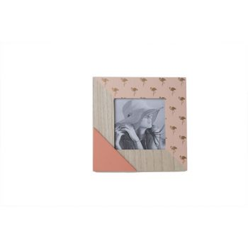 Cosy @ Home Photo Frame Flamingo Mango Wood 17x1xh17