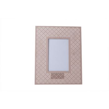 Cosy @ Home Photo Frame Pink  Metall 20xh25cm