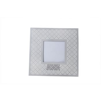 Cosy @ Home Photo Frame Grau  Metall 20xh20cm