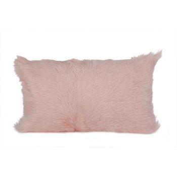 Cosy @ Home Cushion Fur Goat Pink 30x50cm