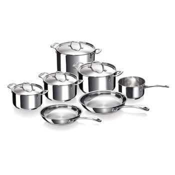 Beka Chef Set 11-teiliger Kochtopf + Deckel