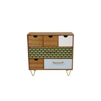 Cosy @ Home Jungle Cabinet Wood 32.5x14x31.5cm