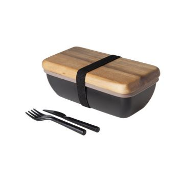 Cosy & Trendy Lunchbox 20x11x7.5cm With Cutlery