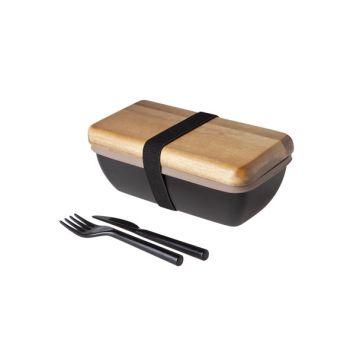 Cosy & Trendy Lunchbox 18x9.5x7cm With Cutlery