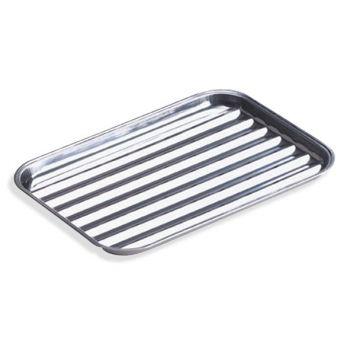 Cook'in Garden Bbq Baking Tray Inox 34x24cm