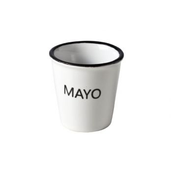 Cosy & Trendy Hrc Cup With Text 'mayo' D4.9xh4.9cm