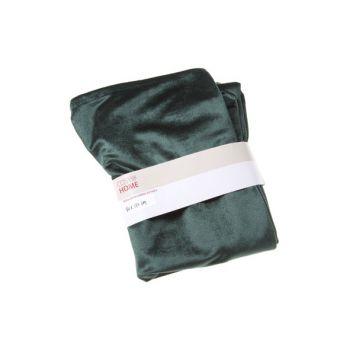 Cosy @ Home Tischlaufer Grun Rechteck Textil 180x40x