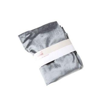 Cosy @ Home Tischlaufer Dunkel Grau Rechteck Textil