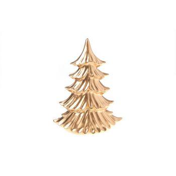 Cosy @ Home Weihnachtsbaum Kupfer Matt Keramik 22x10