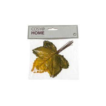 Cosy @ Home Herbstblatter Set12 Gelb Kunststoff