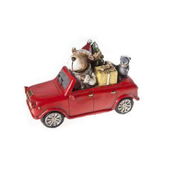 Cosy @ Home Automobil Rot Keramik 20x9xh13 Elk