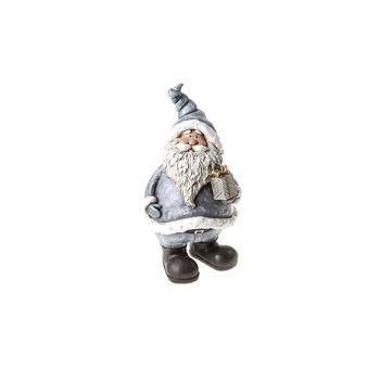Cosy @ Home Santa Grau Keramik 10.5x10.5x19.5cm