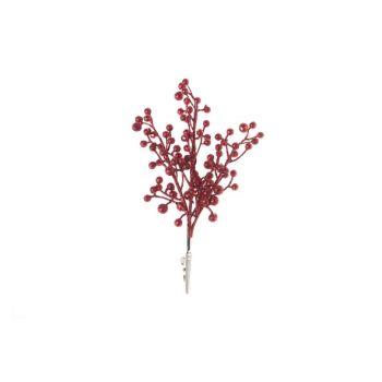 Cosy @ Home Beere Klammer Rot Kunststoff 0x0xh20,32