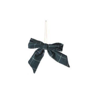 Cosy @ Home Schleife Aufhanger Grun Textil 15x0xh0 C