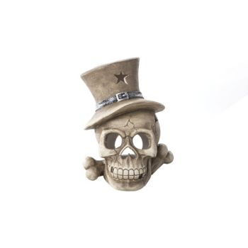Cosy @ Home Totenkopf Ivory Keramik 27x26xh33 Hat