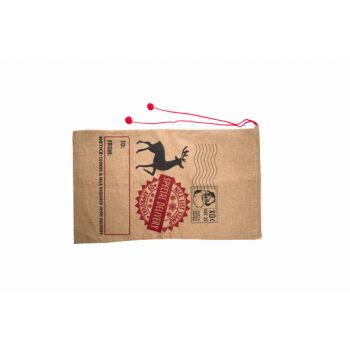 Cosy @ Home Tasche Natural Jute 1x40xh70 Deer
