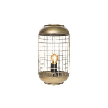 Cosy @ Home Lampe Messing Rund Metall 21x21xh94