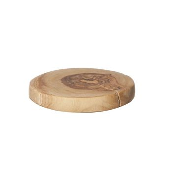 Cosy & Trendy Coasters D10cm Olivewood