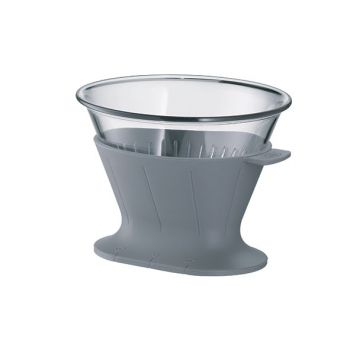 Alfi Coffee Filter 2 Tassen Space Grau