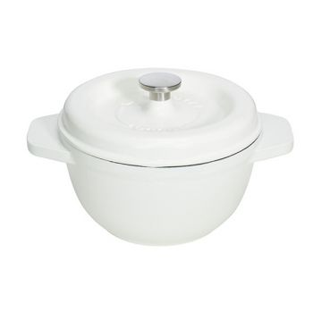 Godin Fonte Casserole White 25cm-4.0l