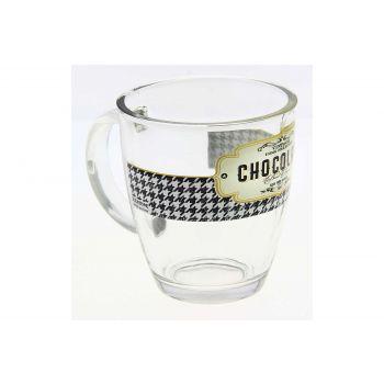 Cerve Retro Breakfast Mug In Glass 38 Cl
