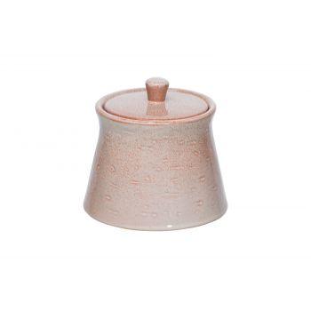 Cosy & Trendy Eleonora Pink Sugar Pot D10xh9cm