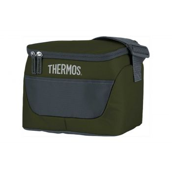 Thermos New Classic Kuhltasche 6 Can Dunkel Grun