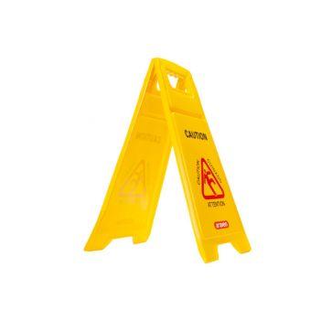 Araven Sign Floor Wet  Yellow