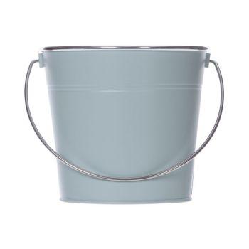 Cosy @ Home Eimer Matt Silver Handle Mint 18,5x14xh1
