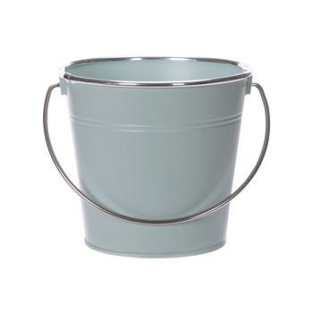 Cosy @ Home Eimer Matt Silver Handle Mint 16x11,5xh1