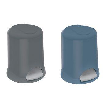 Meliconi Round Plastic Bathroom Pedal Bin 5l 2 Types