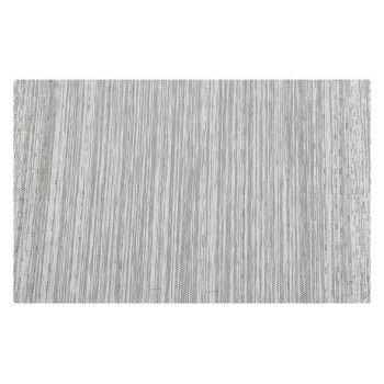 Cosy & Trendy Placemat Pvc Woven Black-white 45x30cm