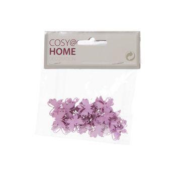 Cosy @ Home Schmetterlinge Deco 24pcs In Polybag Ros