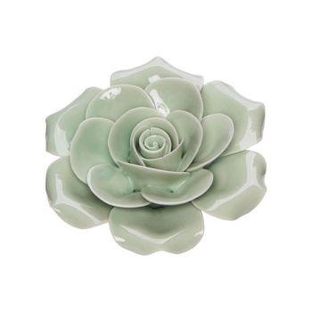 Cosy @ Home Rose Mint 6x6xh3cm Porzellan