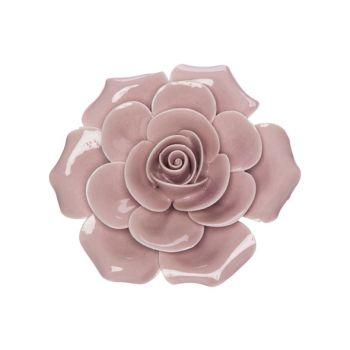 Cosy @ Home Rose Rosa 6x6xh3cm Porzellan