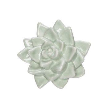 Cosy @ Home Blume Mint 11x9,8xh5,5cm Porzellan