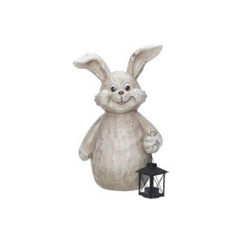 Cosy @ Home Kaninchen Lanterne Beige 31,2x17,5xh43cm