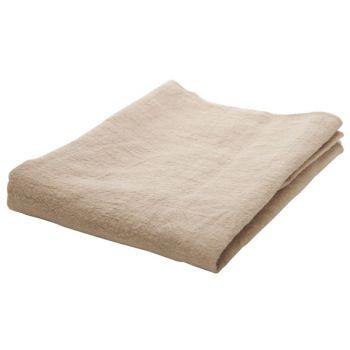 Cosy @ Home Tischlaufer Beige 130x50xh,1cm Rechteck