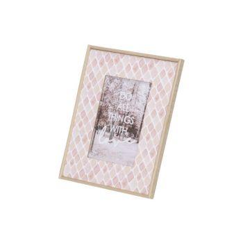 Cosy @ Home Bilderrahm Rosa 18x1,5xh23cm Quadratisch