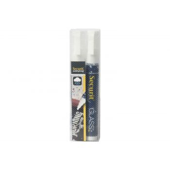 Securit Kreidemarker Set2 Waterproof Weiss