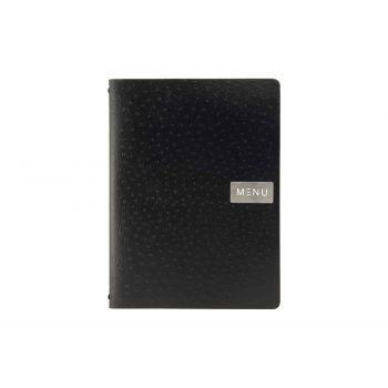 Securit Menuhalter Schwarz 33x24,6xh,5cm A4