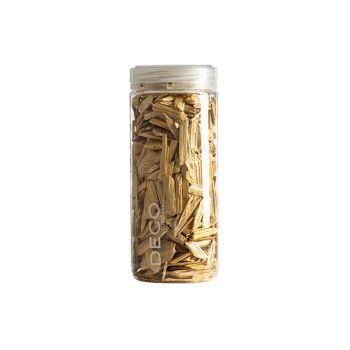 Eurosand Effect Wood Flakes 500 Ml Gelb Holz