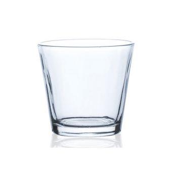 Sandra Rich Teelichtglas Transparent D7xh7cm Konisch
